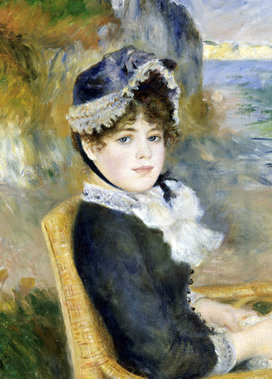 Renoir_by_the_seashore_1883