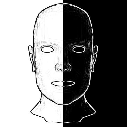 Black_and_white_face