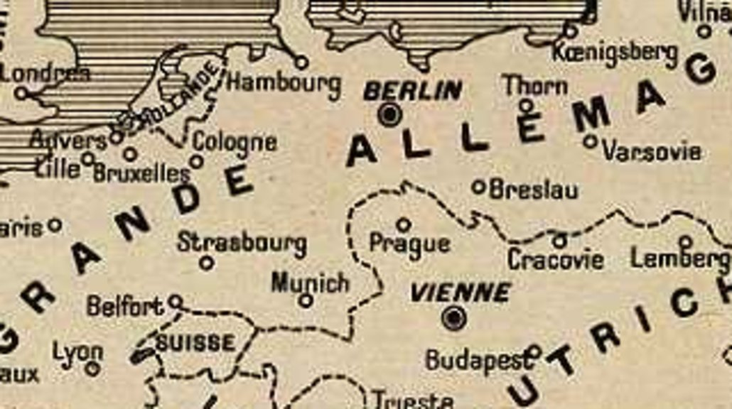 9 germany wins world war ifrench worst case scenario big think what would europe have looked like had imperial germany won world war one this image is taken off a french magazine at the start of the war gumiabroncs Gallery