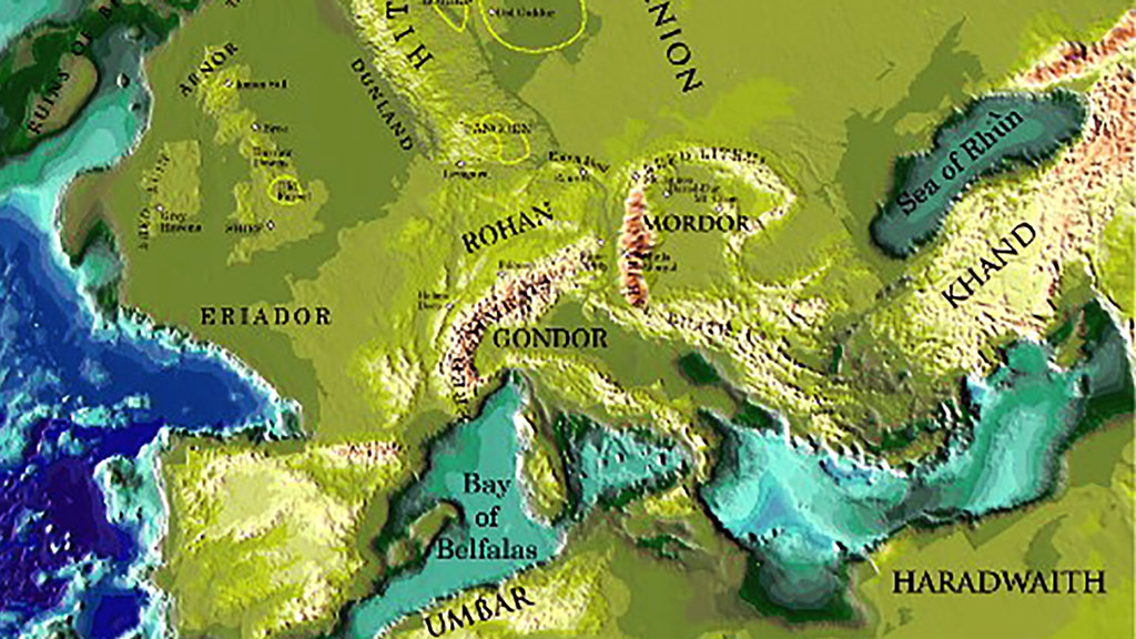 Jrr tolkiens lord of the rings real places may have middle earth jrr tolkiens invented mythology centered on an epic story of the struggle between good and evil but it also included an elaborate gumiabroncs Gallery