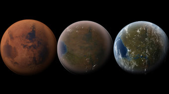 The Cheapest Way to Terraform Mars