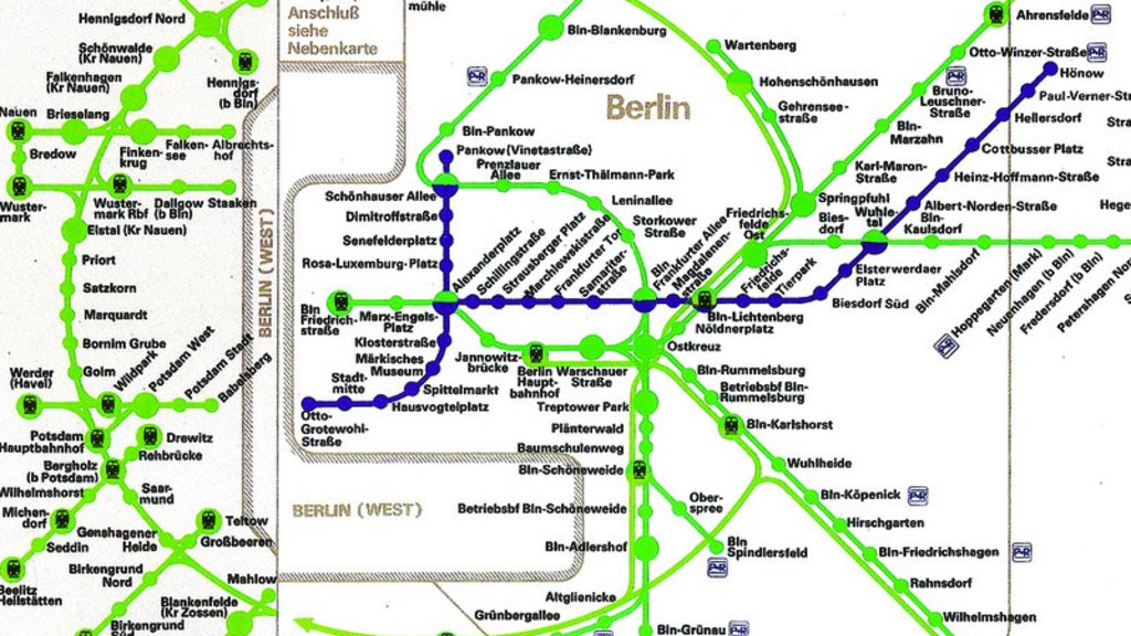 How East German Maps Made West Berlin Almost Disappear Big Think: Berlin Rail Map At Infoasik.co