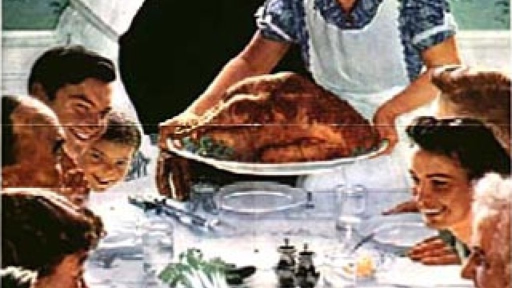 the roots of the norman rockwell thanksgiving big think
