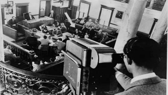 Television-camera-filming-the-courtroom-of-the-harry-washburn-murder..