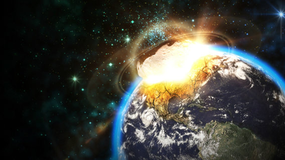 Asteroid Hitting Asteroids Hitting Earth Click