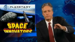 Jon Stewart Calls B.S. On Asteroid Mining. Neil de Grasse Tyson Says It's For Real.