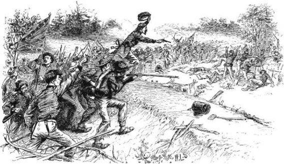an analysis of the secesh and the yankees having a big war The civil war letters of enoch t baker  for it is in such a strong secesh  many miles it will not be very long before you will hear of another big.