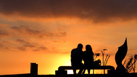 Sunset_two_people
