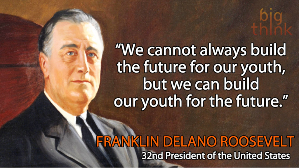 Image result for children are the future fdr