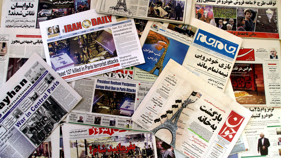 Iran_newspapers