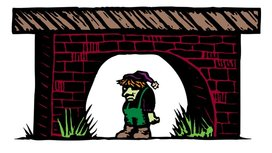 Troll-under-bridge