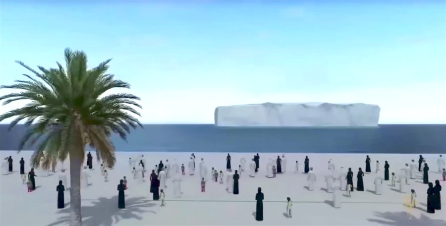 Watch How UAE Plans to Drag Icebergs from Antarctica to Solve Its Water Shortage