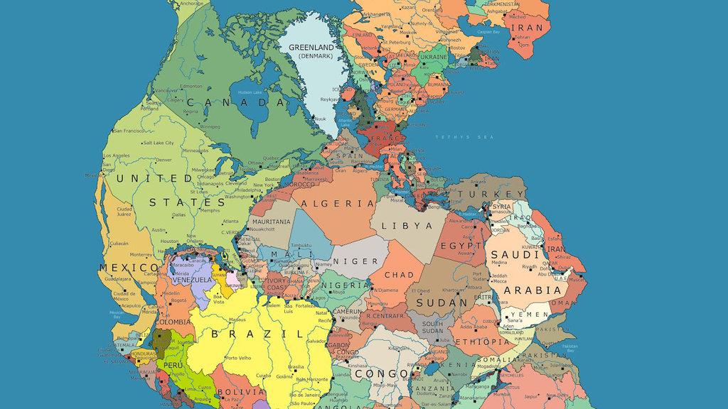 Which countries would be your neighbors on the supercontinent pangea article image publicscrutiny Images