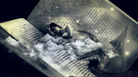 Sleep_dreaming_woman_in_book
