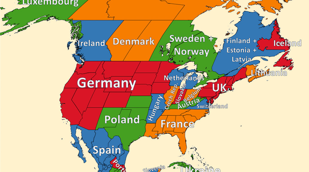 what if europe and north america switched populations big think