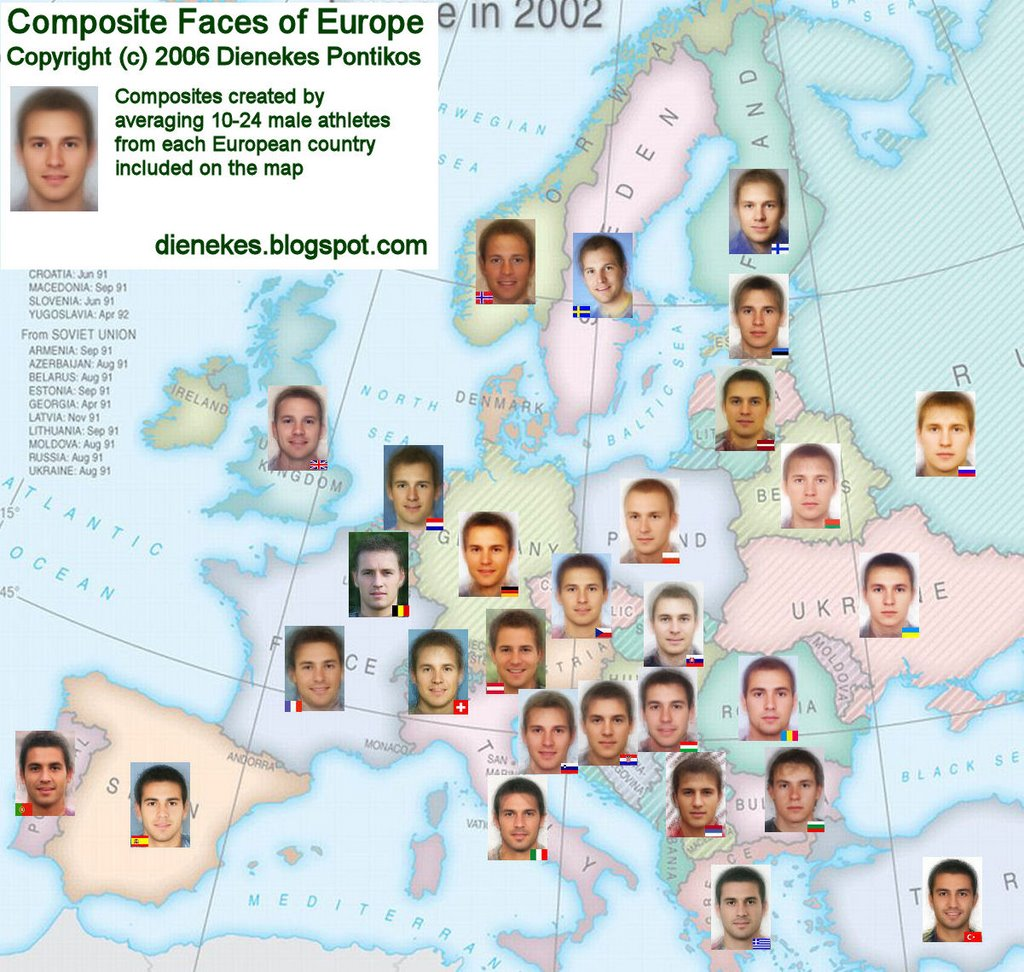 What the 'Ideal' European Man Looks Like, Country by ...