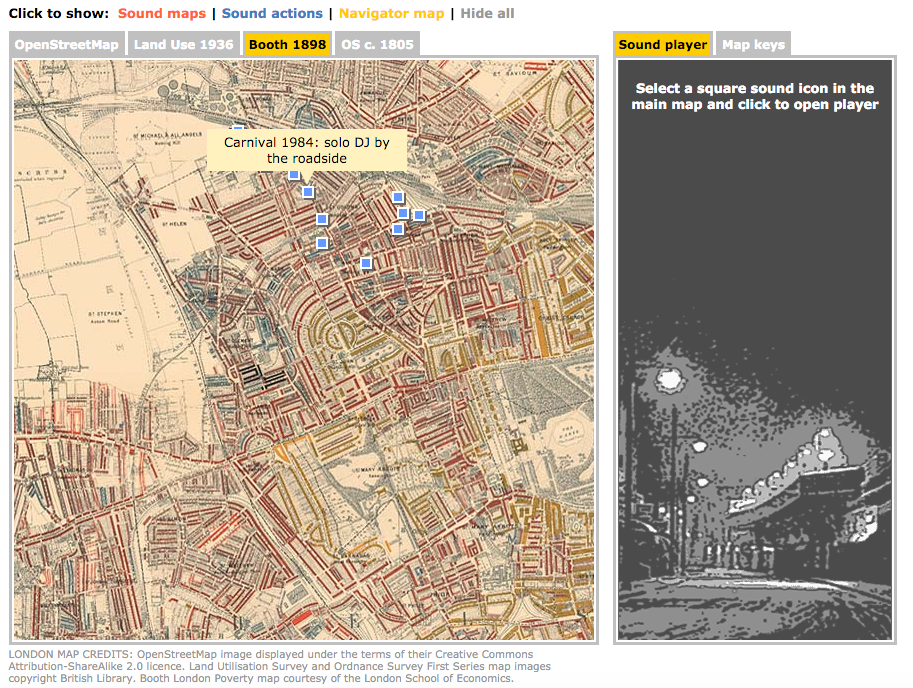 The Cockneysphere and Other Sound Maps of London  Big Think