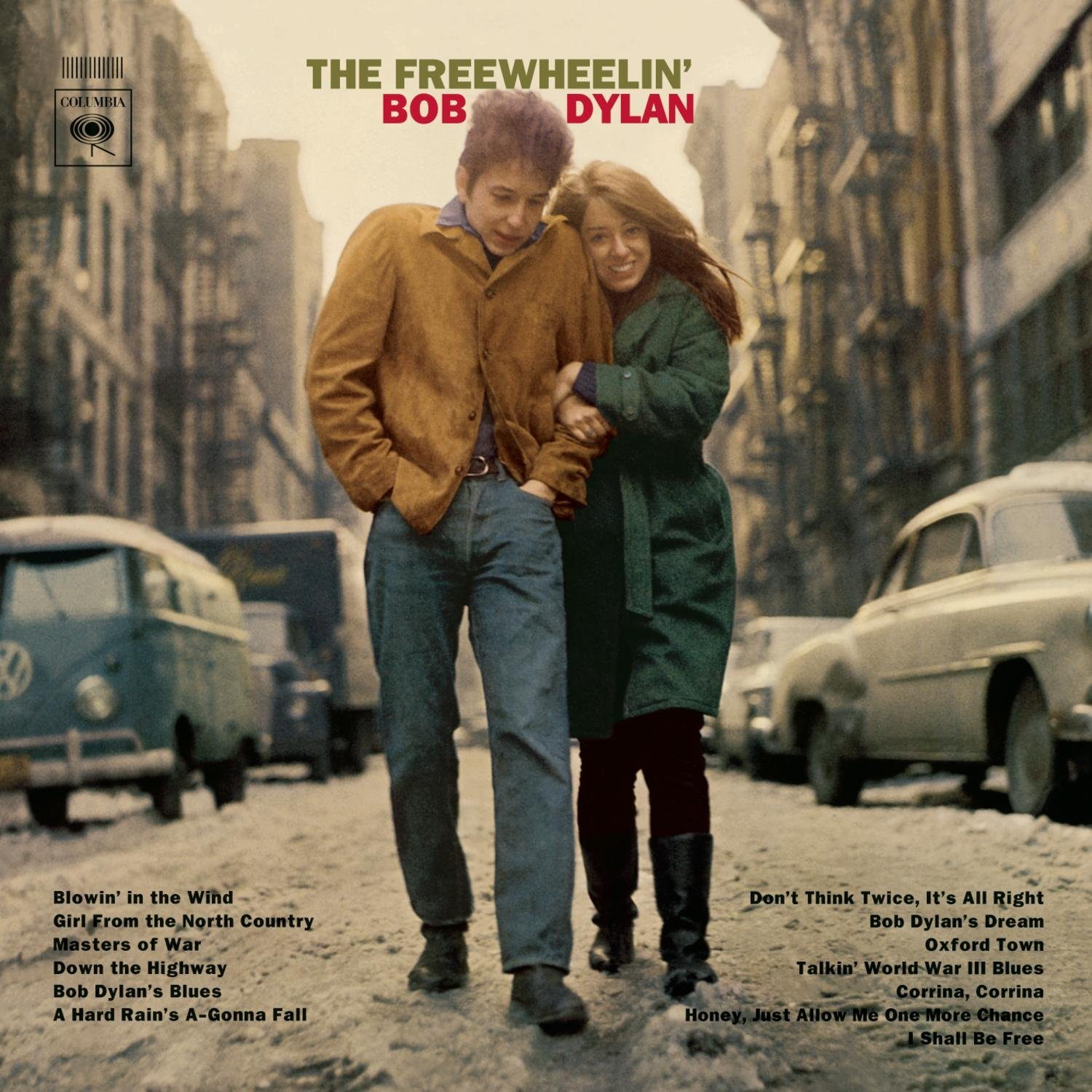 freewheelin' cover