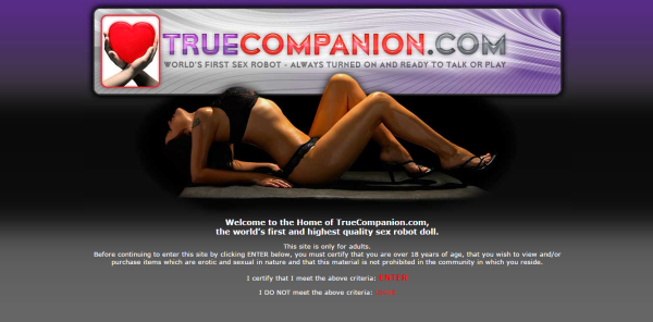 True Companion website