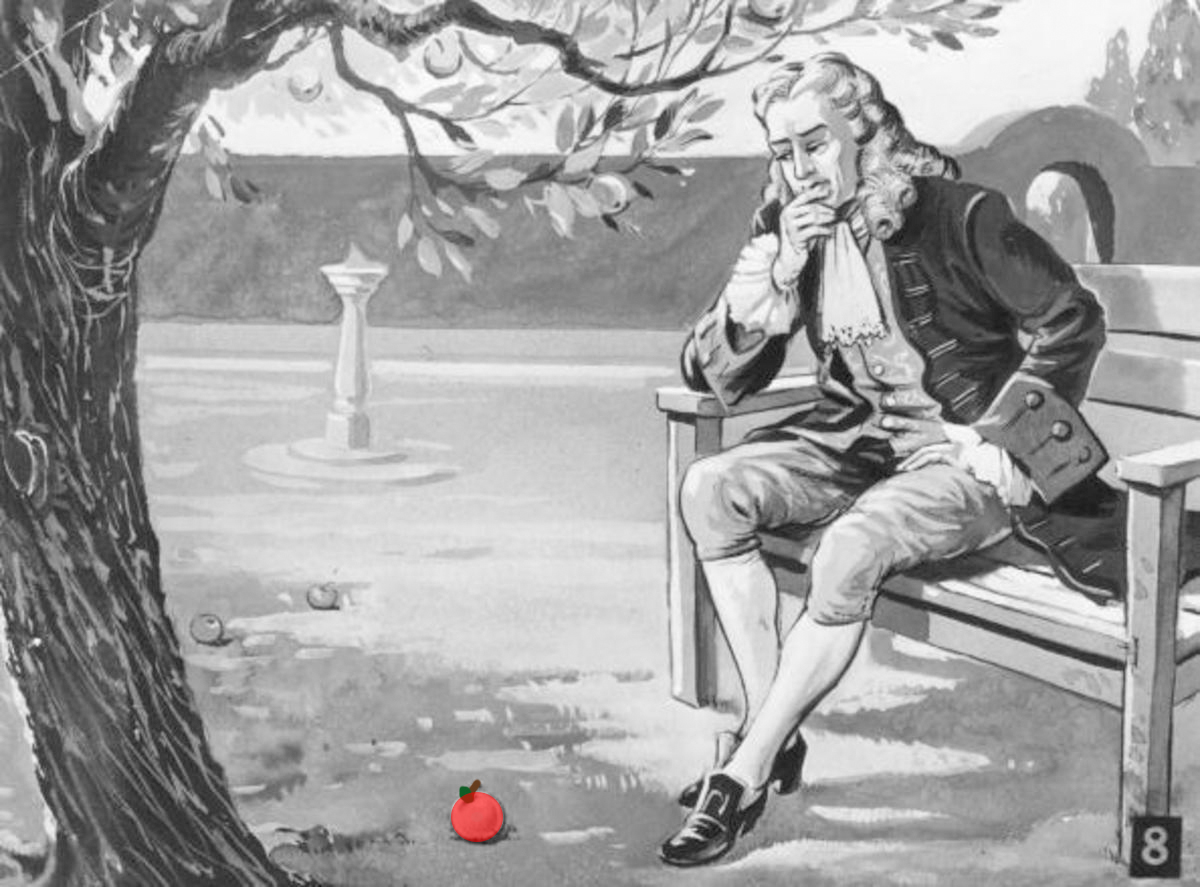 isaac newton apple