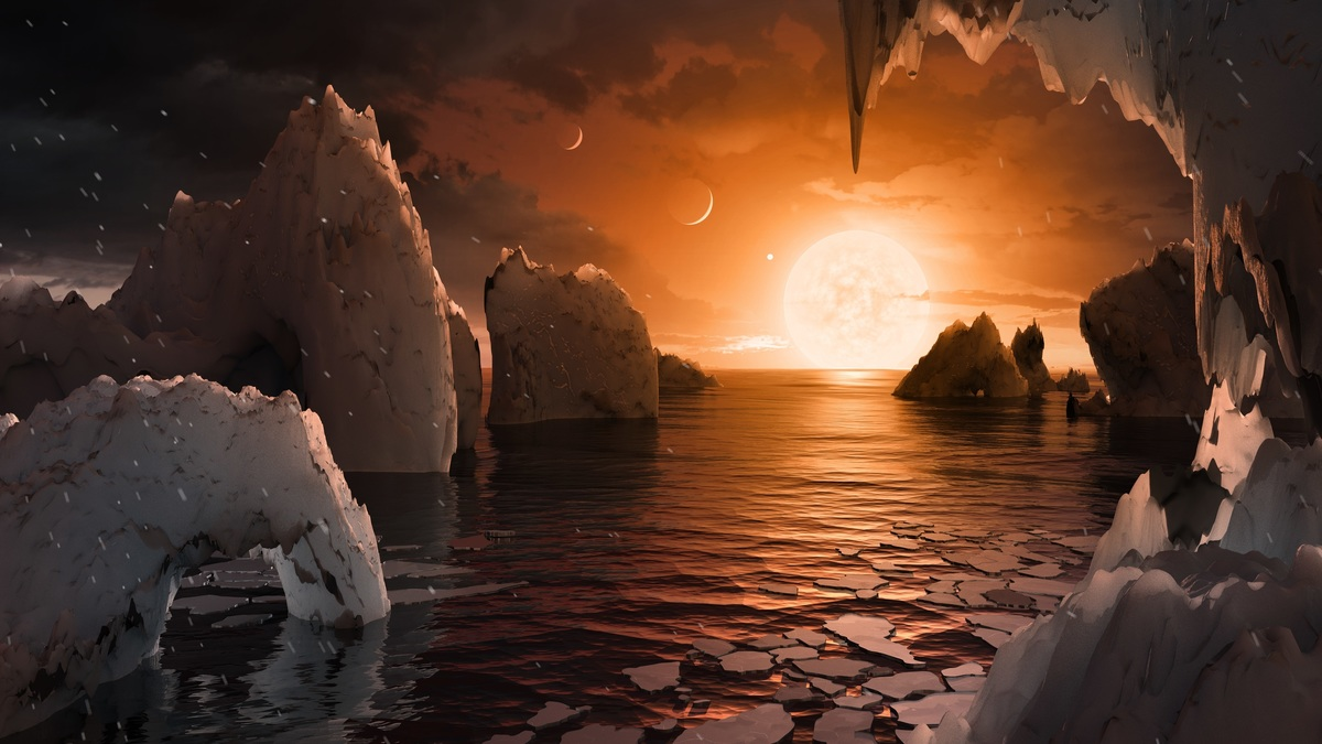 on a Trappist a planet